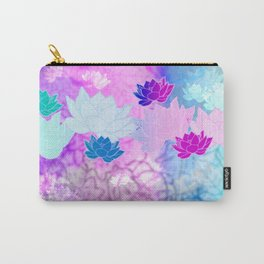 Lotus Color Bomb Carry-All Pouch