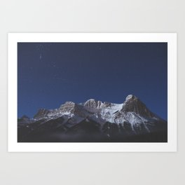 Canmore, AB Art Print