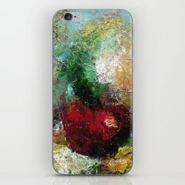 Abstract Apple iPhone Skin
