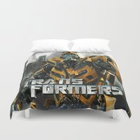 transformers Duvet Covers featuring Transformers by giftstore2u