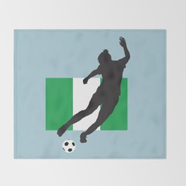 Nigeria - WWC Throw Blanket