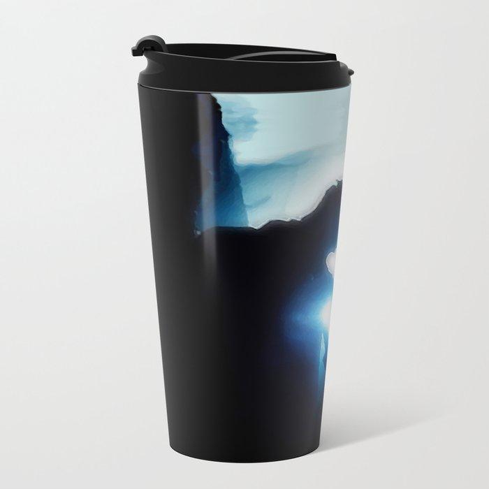 The Broken One (Burying The Hatchet) Metal Travel Mug