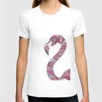 flamingo T-shirts featuring Flamingo by Suzz in Colour