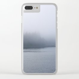 Fog in the Park Clear iPhone Case