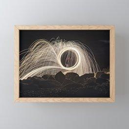 Firespinner #2 Framed Mini Art Print