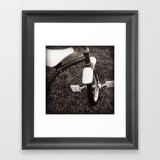 The Lone Rider Framed Art Print