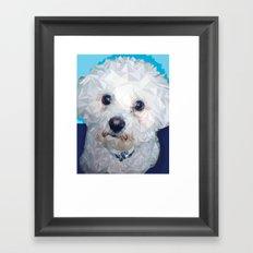 Roscoe Dog Framed Art Print