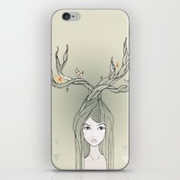 witch iPhone & iPod Skins featuring witch by Catpurrrs