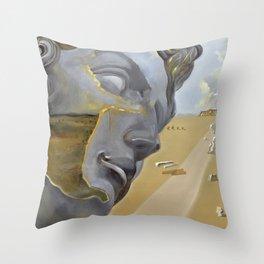 "Poster-Salvador Dali-After the head of ""Giuliano di Medici"". Throw Pillow"