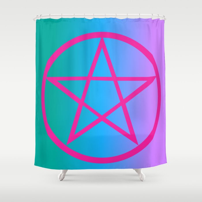 Summoning Circle Shower Curtain By Aule Creations