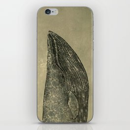 Damask Whale  iPhone Skin