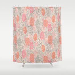 Floral Ensemble Shower Curtain