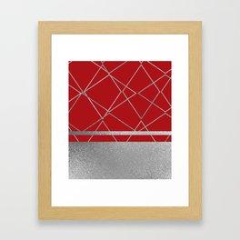 Silverado: Red Framed Art Print