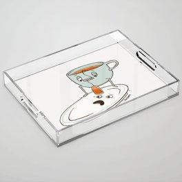 Tea Baggin' Acrylic Tray