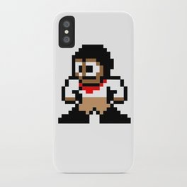 8-bit Andres Pose 1 iPhone Case