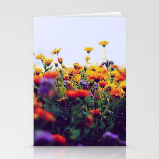 flower field II Stationery Cards