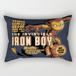 THE INVINCIBLE IRON BOY Rectangular Pillow