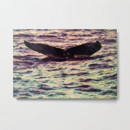 Water Sunset 2 Metal Print