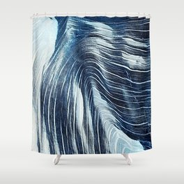 wood you Shower Curtain