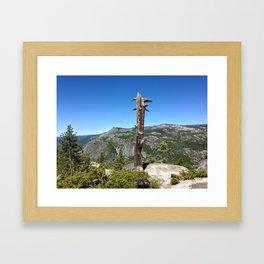 DEAD TREE Framed Art Print