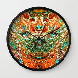 abstarct shapes 5 Wall Clock