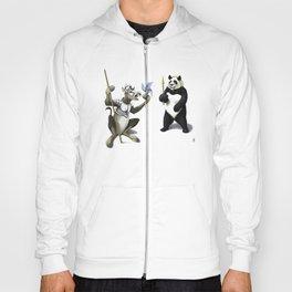 Donkey Xote and Sancho Panda (Colour) Hoody