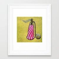 perfume Framed Art Prints featuring Perfume by MR VELA