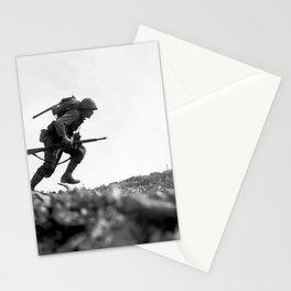 Battle Of Okinawa Painting Stationery Cards