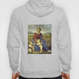Madonna of the Meadows by Raphael Hoody