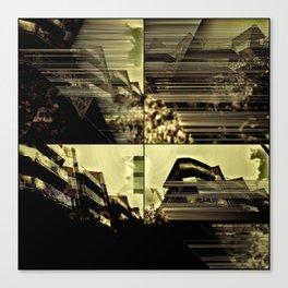 Urbania city 6 Canvas Print
