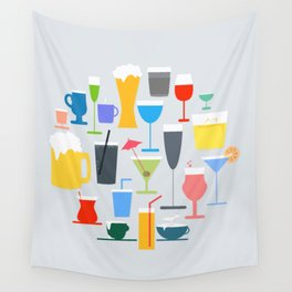 Time to Drink Wall Tapestry