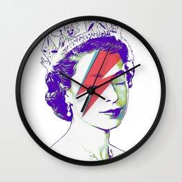 Queen Elizabeth / Aladdin Sane Wall Clock