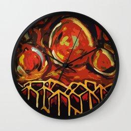 Great Balls of Fire Wall Clock