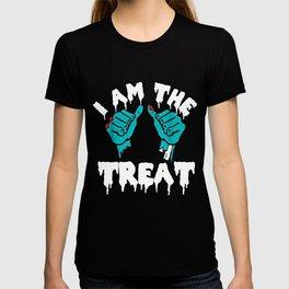 Halloween I Am The Treat Zombie Hands T-shirt