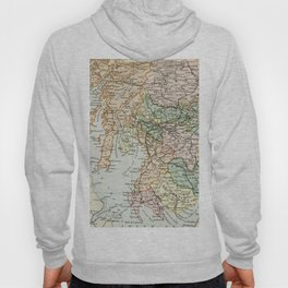 South Scotland Vintage Map Hoody