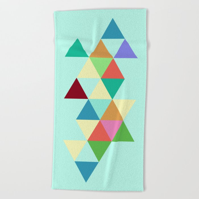 #808 Time After Time Beach Towel
