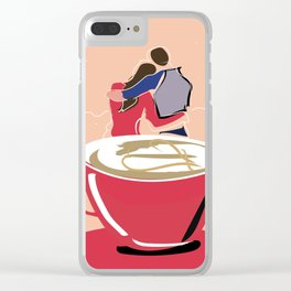 together Clear iPhone Case