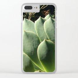 Aeonium lancerottense succulent Clear iPhone Case