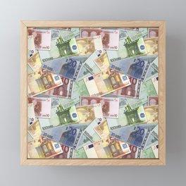 Art of the euro money Framed Mini Art Print