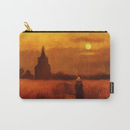 Vincent Van Gogh The Old Tower In The Fields Carry-All Pouch