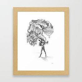 Burst. 2014 Framed Art Print