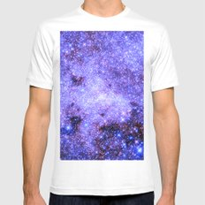 Lavender gAlAxy. Mens Fitted Tee White MEDIUM