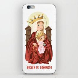 Virgen de Coromoto iPhone Skin