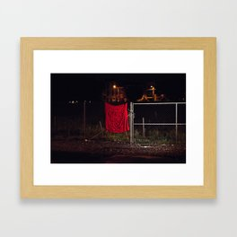 A Good Place To Start, The Unravel, Silk Graffiti by Aubrie Costello Framed Art Print