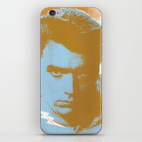 clint barton iPhone & iPod Skins featuring clint by zemoamerica