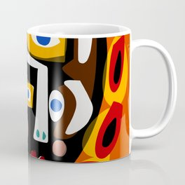 African Woman is dreaming in the sunrise Coffee Mug