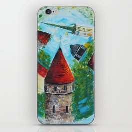 The Circular Fairytale iPhone Skin