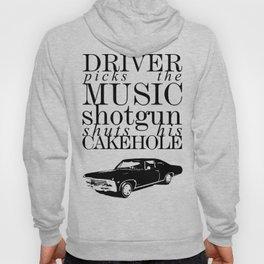 Superantural - Driver picks the music... Hoody