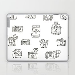 Cameras: Black Laptop & iPad Skin