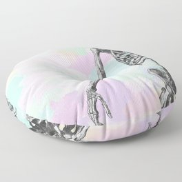 Groove Skeleton Floor Pillow